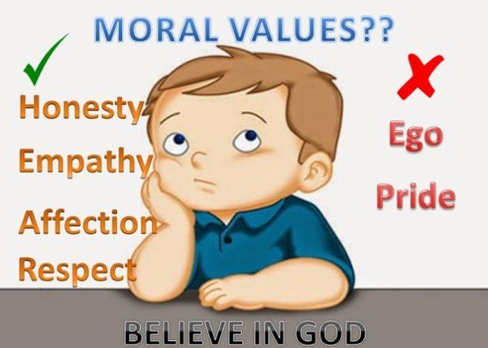 Moral Values for Children's